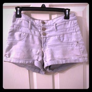 Mid Ride Denim Shorts